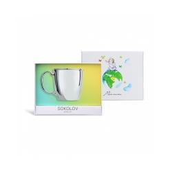 Ceașcă din argint SOKOLOV art 2301010023 2