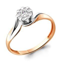 Inel de logodnă din aur ACVAMARIN art 963090k